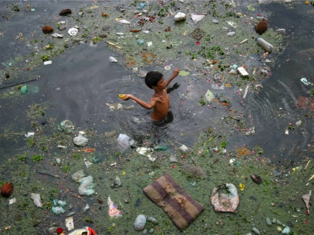 water pollution in india More than half of indias rivers too polluted for drinking water.