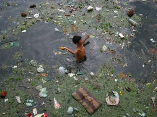 Water pollution India