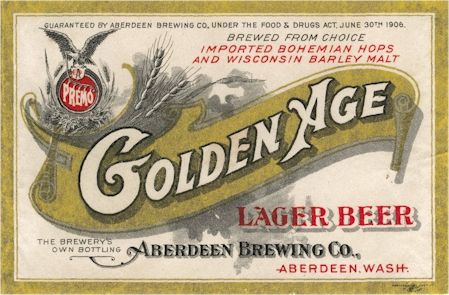 GoldenAge beer label