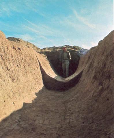 Hohokam canal